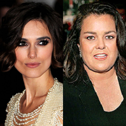 Keira Knightley to play alongside Rosie O'Donnell