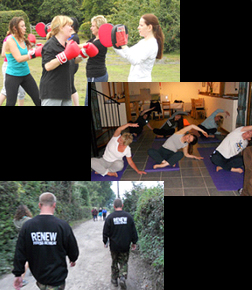 Renew Fitness Retreat - Some of the activites