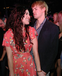 Rumer Willis and Chord Overstreet seen out together