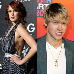 Rumer Willis and Chord Overstreet