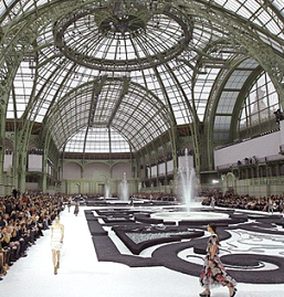 The Chanel show - Palace of Versailles recreated within Le Grand Palais
