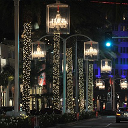Beverley Hills at Christmas
