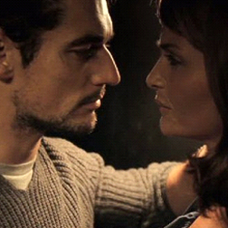David Gandy and Helena Christensen