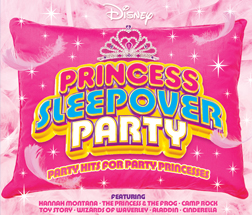 Disney Princess Sleepover Party