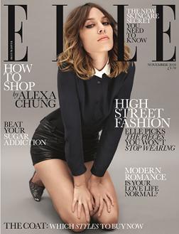 ELLE November cover