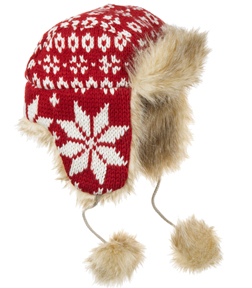 Fair Isle Trapper Hat