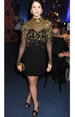 Gemma Arterton at the Winter Ball