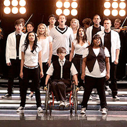 Glee are coming to the X Factor!