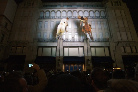 Ralph Lauren goes 4D on New Bond Street
