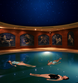 Nirvana's famous floatation therapy pool