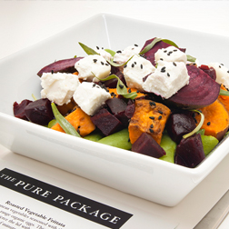 Sweet Potato, Beetroot and Goat's Cheese Salad
