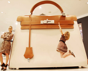 The World's largest Hermes Kelly Bag