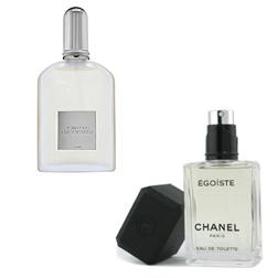 Tom Ford Grey Vetiver and Chanel Egoiste