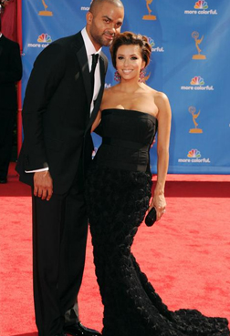 Tony Parker and Eva Longoria