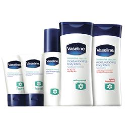 Vaseline Restore Intensive range