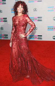 <b>AMAs Fashion Roundup...</b>