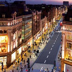 <b>Oxford Street Stops ...</b>