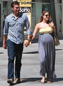 Ali Larter with her husband Hayes McArthur