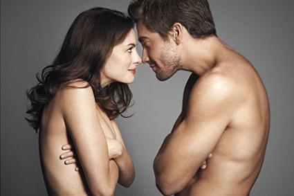 Anne and Jake topless - just as a taster of what you'll get on screen!