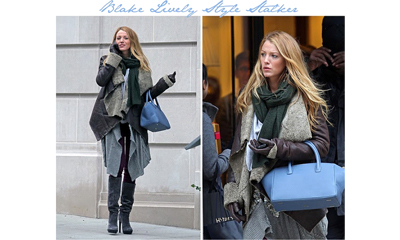 Blake Lively showing us how layering should be done