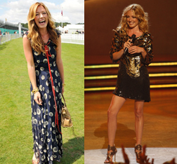 Cat Deeley's different styles