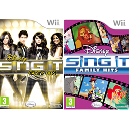 Disney Sing It games