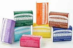 Dr Bronners block soap