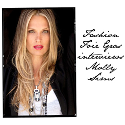 FFG Interviews Molly Sims