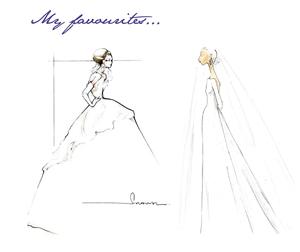 FFG's favourite wedding dress designs