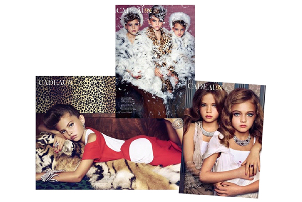French Vogue using child models