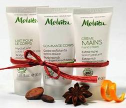 Melvita Christmas Skin Softeners
