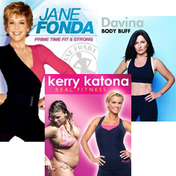 New Fitness DVDs