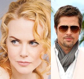 Nicole Kidman and Brad Pitt's flawless skin