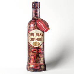 Southern Comfort limited edition Christmas bottle