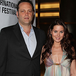 Vince Vaughn and Kyla Weber