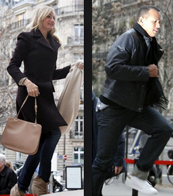 Cameron Diaz and A-Rod in Paris