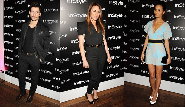 David Gandy, Mel C and Thandi Newton at InStyle's Best of British Talent Party