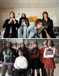 <b>Glee V Kings of Leon...</b>