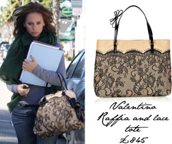 Jennifer Love Hewitt carrying the Valentino Bag
