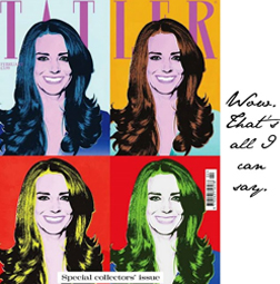 Kate Middleton Tatler Cover
