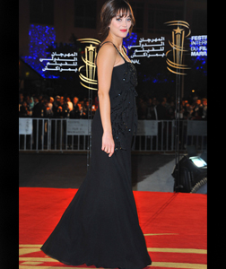 Marion Cottilard at Marrakech Film Festival in Dec '10