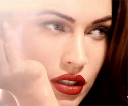 Megan Fox in Armani Beauty's new campaign