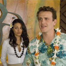 Mila Kunis with Jason Segal in Forgetting Sarah Marshall