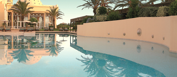 The Residence in Tunis - Pool area