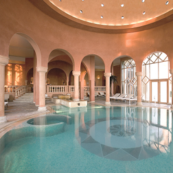 The Residence in Tunis - indoor pool area