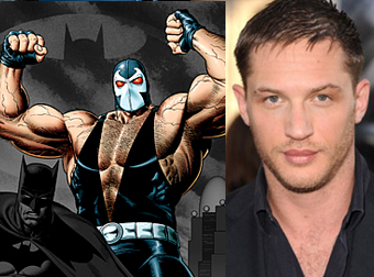 Tom Hardy for Bane role