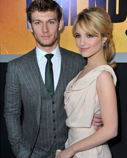 Alex Pettefer and Dianna Agron