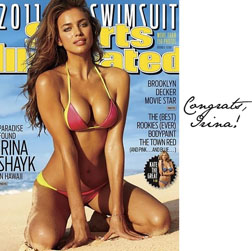 Irina Shayk is the new Sports Illustrated Swimsuit Issue Cover girl