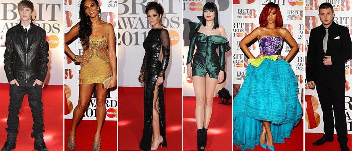 Justin Bieber, Alesha Dixon, Cheryl Cole, Jessie J, Rihanna, Plan B