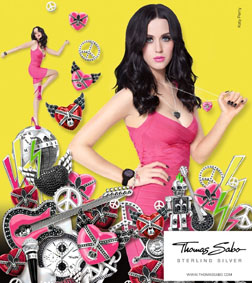 Katy Perry for Thomas Sabo